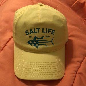 Salt life adjustable hat